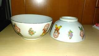 Vintage bowls.