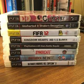 PS3 Games (Catherine, Bioshock Infinite, Uncharted 3, etc.)