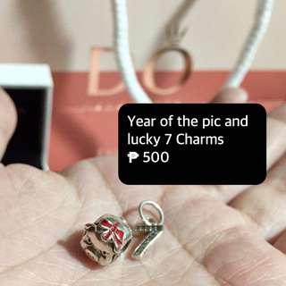 Rush sale charms