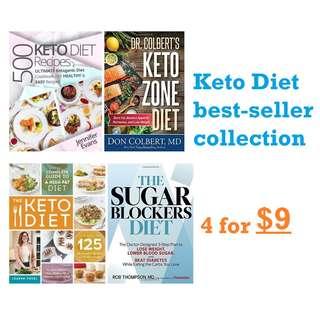 ebooks: Keto Diet Best Seller Bundle (4 books in one)