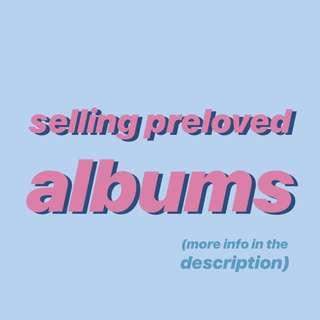 preloved albums for sale