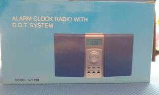 Alarm Clock Radio with D.D.T System