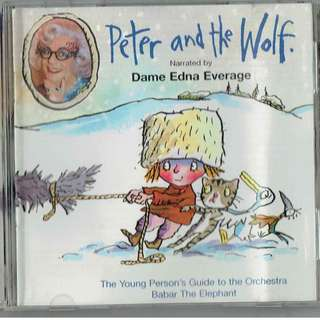 🚚 Peter and the Wolf - Children Classical Music CD