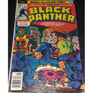 Black Panther #1 (1st app: Azzuri & The Collectors)