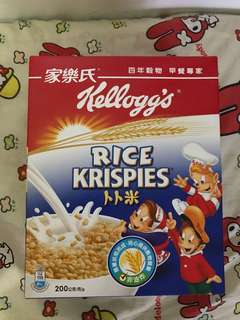 Kellogg's Rice Krispies 家樂氏卜卜米2盒