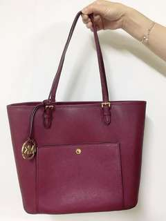Michael Kors Travel Tote Bag (Purple)