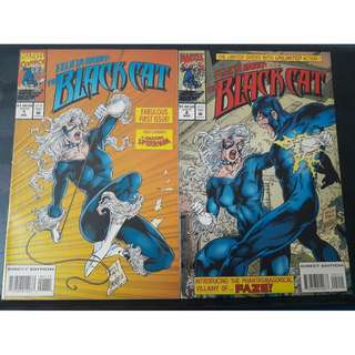 Felicia Hardy: The Black Cat #1 & #2