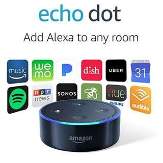 🚚 Brand new amazon echo dot for sale - cheap