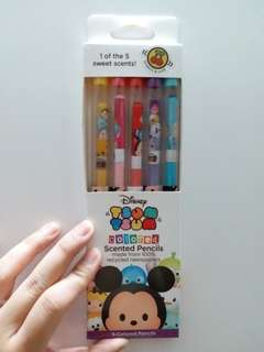 Disney Tsum Tsum Colored Scented Pencils