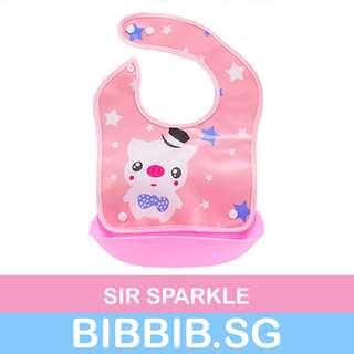 🚚 Silicone Bib (detachable) - Sir Sparkle