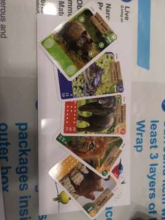 🚚 Wildlife card -ntuc