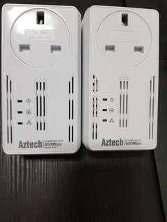 Aztech Homeplug AV 500Mbps & 600Mbps