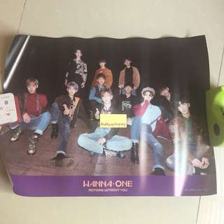 WANNA ONE TO BE ONE REPACKAGE WANNA VERSION POSTER