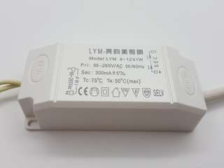 LED light driver 12W