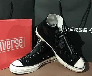 Converse 70's Zip Hi Egret / Black