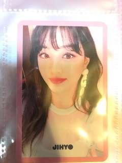 Twice Signal JH粉Selfie小卡