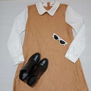 Peterpan collared dress