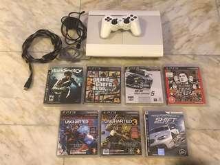 二手PS3主機+7隻game