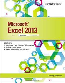 Excel 2013 textbook