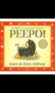 Peepo! - Janet & Allan Ahlberg