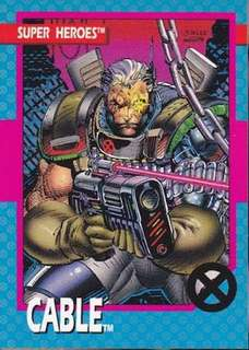 1992 Impel Marvel X Men Trading Cards