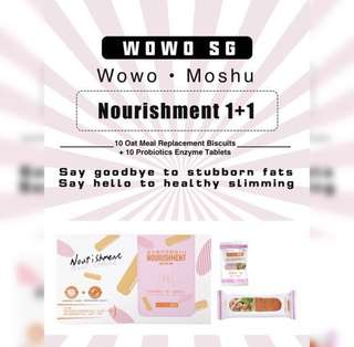 WOWO MEAL REPLACEMENT BISCUIT