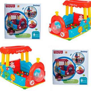 Fisher-Price Inflatable Train Ball Pit