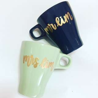 Customisable cup calligraphy anniversary farewell event Day gift gifts present presents Friend friends birthday Mugs Mug teacher Teachers day customised company graduation Colleagues Colleague wedding Personalised corporate cups teacher's teachers'