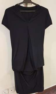 Giordano Ladies Black Dress