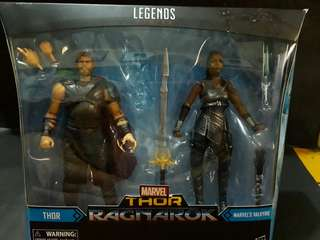 Marvel Thor Ragnarok Thor and Marvel's Valkyrie