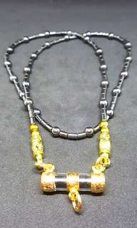 Gold Tarkut Necklace Kruba Noi 2561