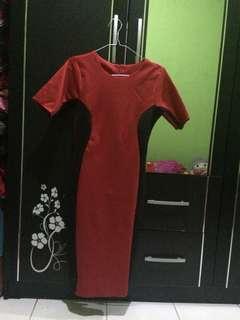 Dres merah Black 🛍😘