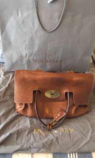 Mulberry Bayswater Oak handbag