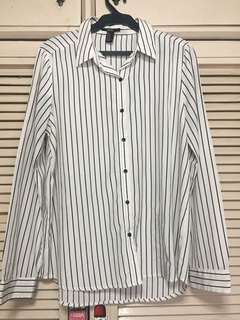 F21 striped long sleeves