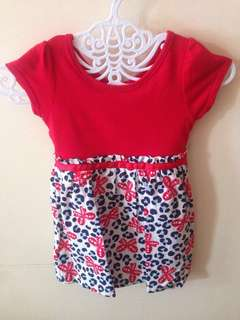 Dress//Top blouse for kids age 1 t 2 old