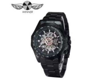Winner Mens Stainless Steel Watch Automatic