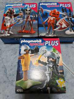 Playmobil Special Plus Knights 4763, 4768, 5409