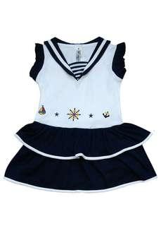 Sailor dress anak perempuan