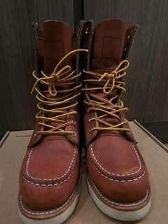 🚚 Red Wing 877,10孔,尺寸4,女鞋