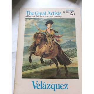 The Great Artists Velazquez