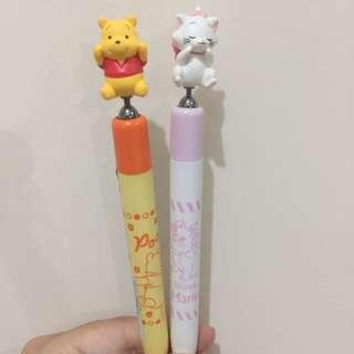 日本Disney store 小熊維尼 Marine 鉛芯筆 每支
