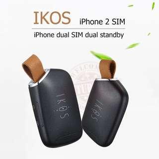 IKOS K1S iPhone 雙卡鎖匙圈 雙卡雙待智能蘋果副卡WIFI蛋
