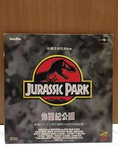 史蒂芬史匹柏 JURASSIC PARK 侏羅紀公園 LD 雷射影碟 侏羅紀公園 裝置藝術 造型背景