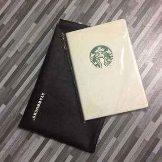 Starbucks Notebook Planner