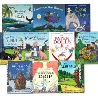 Julia Donaldson 10 Books Pack