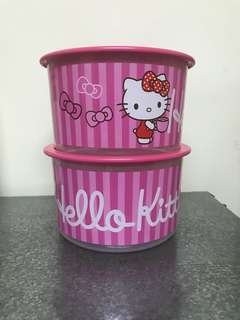 Hello Kitty Tupperware One Touch