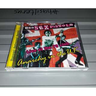 THE SEX PISTOLS - Anarchy In The U.K (CD, Live)