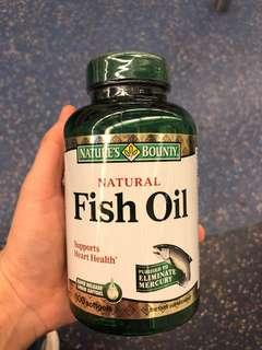 Natures Bounty 自然之寶魚油100mg