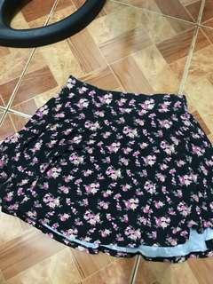 Forever 21 skater skirt (floral)