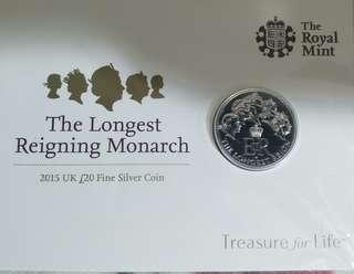 售最長君主系列紀念幣
